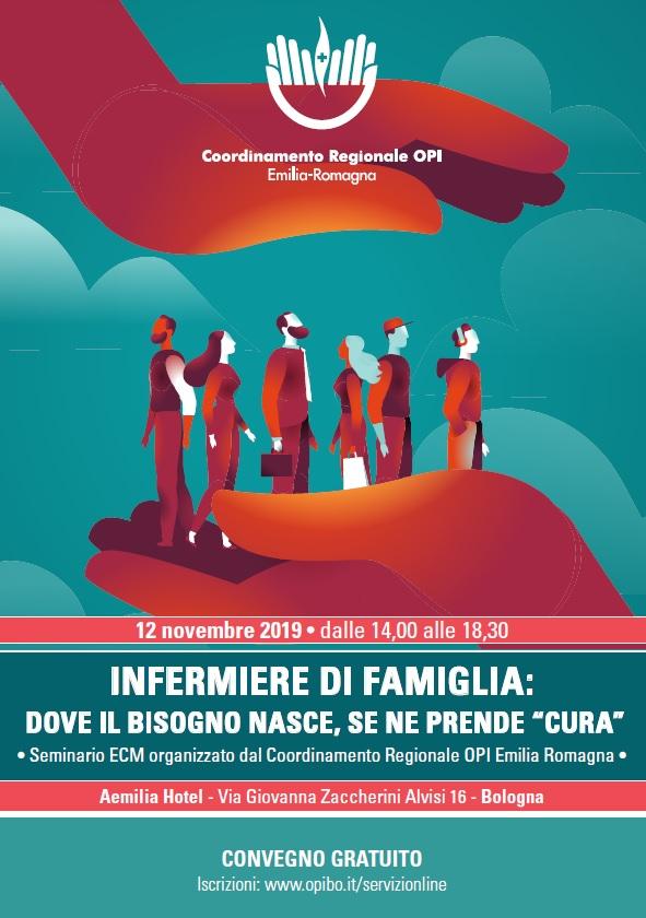 Locandina 12 novembre 2019 - Infermiere di famiglia: dove il bisogno nasce