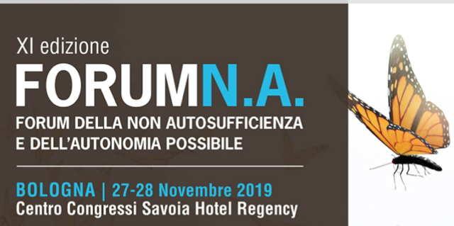 Locandina XI Forum della non autosufficienza e dell'autonomia possibile