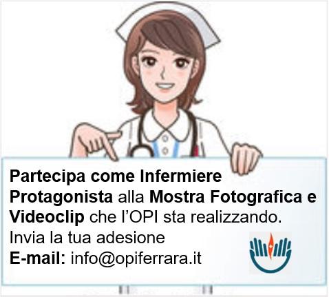 Mostra fotografica e videoclip organizzati dall'OPI di Ferrara