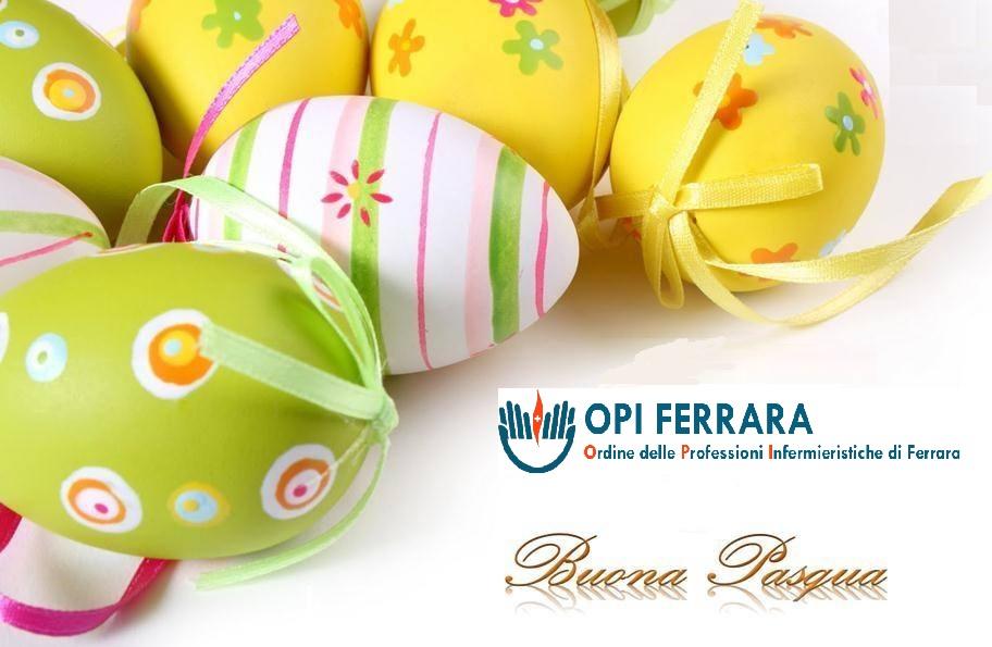 Chiusura per festività pasquali degli uffici dell'OPI di Ferrara