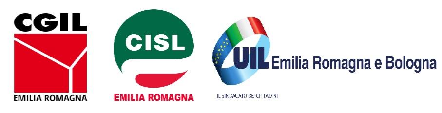 CGIL, CISL e UIL a sostegno della proposta della Regione Emilia-Romagna